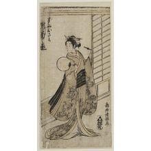 Torii Kiyomitsu: Actor Segawa Kikunojô II as Sushiya Osato - Museum of Fine Arts