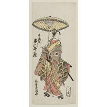Torii Kiyomitsu: Actor Ichikawa Benzo as Ushiwakamaru - Museum of Fine Arts