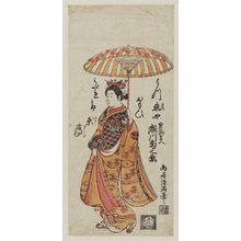 Torii Kiyomitsu: Actor Segawa Kikunojô II as Onoe no Mae - Museum of Fine Arts