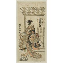 Torii Kiyomitsu: Actor Segawa Kikunojô II as Kewaizaka no Shôshô - Museum of Fine Arts