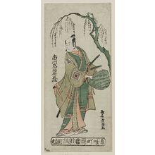 鳥居清満: Actor Ichikawa Komazo - ボストン美術館