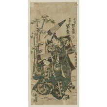 Torii Kiyomitsu: Actors Bando Hikosaburo and Matsumoto Koshiro - Museum of Fine Arts
