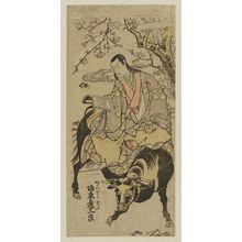 Torii Kiyomitsu: Actor Bandô Hikosaburô as Kanshôjo - Museum of Fine Arts
