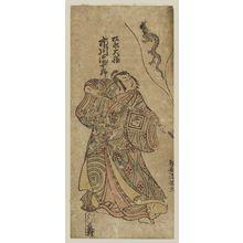 鳥居清満: Actor Ichikawa Danjûrô IV as Matsunaga Daizen - ボストン美術館