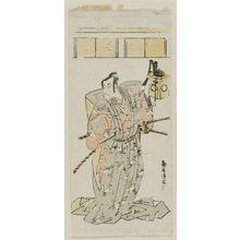 Torii Kiyomitsu: Actor - Museum of Fine Arts