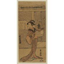 鳥居清経: Actor Onoe Tamizô - ボストン美術館