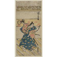 Torii Kiyotsune: Actor Matsumoto Kôshirô - Museum of Fine Arts