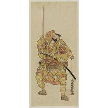 Torii Kiyotsune: Actor Ichimura Uzaemon - Museum of Fine Arts