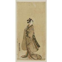 鳥居清満: Actor Iwai Hanshirô - ボストン美術館
