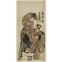 Torii Kiyotsune: Actors Segawa Kikunojo II and Ichimura Uzaemon - Museum of Fine Arts