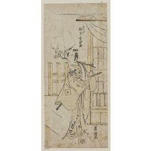 Torii Kiyotsune: Actor Matsumoto Kôshirô as Tadanobu - Museum of Fine Arts