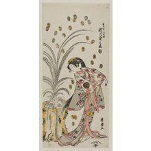 Torii Kiyotsune: Actor Segawa Kikunojô II as Keisei Chiyo... - Museum of Fine Arts
