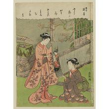 Torii Kiyotsune: In Memory of Harunobu (Harunobu tsuizen) - Museum of Fine Arts