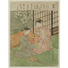 山本義信: The Third Month (Yayoi), from an untitled series of Twelve Months - ボストン美術館