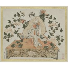 Unknown: Dancer Performing the Lion Dance (Shakkyô) - Museum of Fine Arts