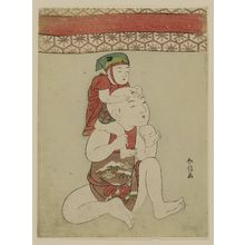 Suzuki Harunobu: Dolls of Boys Playing Piggyback - Museum of Fine Arts