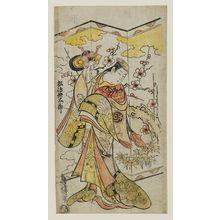 Torii Kiyomasu II: Actor Matsushima Hyôtarô - Museum of Fine Arts