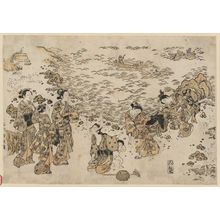 Ishikawa Toyonobu: Gathering Shells - Museum of Fine Arts