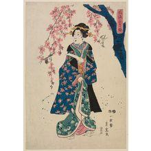 Utagawa Hiroshige II: Fûryû kachô nagame ? - Museum of Fine Arts