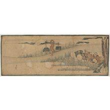葛飾北斎: Rice Planting - ボストン美術館