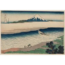 葛飾北斎: The Jewel River in Musashi Province (Bushû Tamagawa), from the series Thirty-six Views of Mount Fuji (Fugaku sanjûrokkei) - ボストン美術館