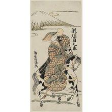 Torii Kiyomitsu: Actor Segawa Kikunojô II as Itsuki - Museum of Fine Arts