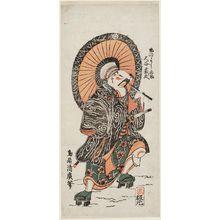 Torii Kiyohiro: Actor Ôtani Hiroji as Ume no Yoshibei - Museum of Fine Arts