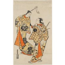 Torii Kiyomasu I: Two Courtesans - Museum of Fine Arts