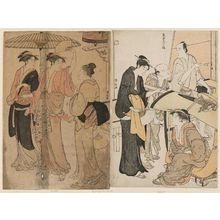 Torii Kiyonaga: The Fifth Month, from the series Twelve Months in the South (Minami jûni kô) - Museum of Fine Arts