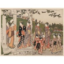 Torii Kiyonaga: An Excursion to Mimeguri - Museum of Fine Arts