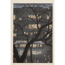 Uehara Konen: Dôtonbori - ボストン美術館