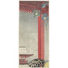 高橋弘明: Temple of Kannon at Asakusa (Asakusa Kannon-dô) - ボストン美術館