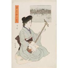 Ishii Hakutei: Shitaya, from the series Twelve Views of Tokyo (Tôkyô jûni kei) - Museum of Fine Arts