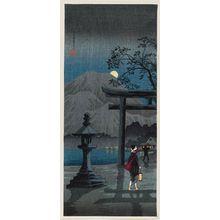 Takahashi Hiroaki: Moon at Hakone Lake (Hakone ko no tsuki) - Museum of Fine Arts