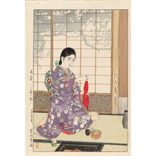 Kasamatsu Shiro: Late Spring: Tea Ceremony (Zanshun--Chanoyu) - Museum of Fine Arts