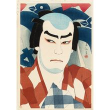 Natori Shunsen: Actor Jitsukawa Enjaku as Danshichi - Museum of Fine Arts