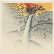 Kawase Hasui: Kegon Waterfall at Nikkô (Nikkô Kegon no taki) - Museum of Fine Arts