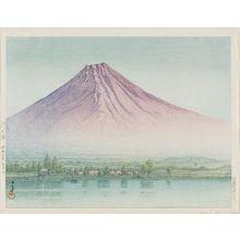 Kawase Hasui: Lake Kawaguchi (Kawaguchi-ko) - Museum of Fine Arts
