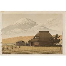 Kawase Hasui: Mt. Fuji from Narusawa (Narusawa no Fuji) - Museum of Fine Arts