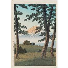 川瀬巴水: Evening at Tago Bay (Tago no ura no yûbe), from the series Selected Views of the Tôkaidô Road (Tôkaidô fûkei senshû) - ボストン美術館