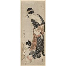 喜多川歌麿: Mother and Child - ボストン美術館