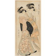 Kitagawa Utamaro: Ariwara of the Tsuruya - Museum of Fine Arts