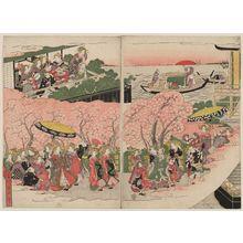 菊川英山: Lu Sheng's Transient Dream at Handan (Rosei Kantan issui yume) - ボストン美術館