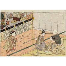 Suzuki Harunobu: Blow Pipe Parlor - Museum of Fine Arts