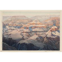 吉田博: The Grand Canyon. Series: The United States - ボストン美術館