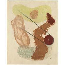 Onchi Koshiro: Allegorie No. 1: Family (b) - Museum of Fine Arts