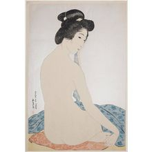 Hashiguchi Goyo: Woman after the Bath (Yokugo no onna) - Museum of Fine Arts