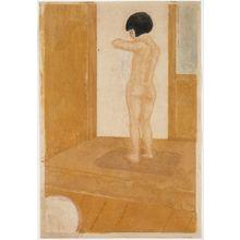 恩地孝四郎: Bath Room (Yokushitsu) - ボストン美術館