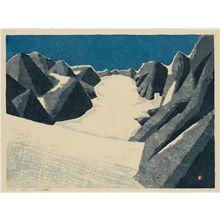 Azechi Umetaro: Glacial Snow - Museum of Fine Arts