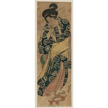 Keisai Eisen: Young Woman Returning from the Bath - Museum of Fine Arts